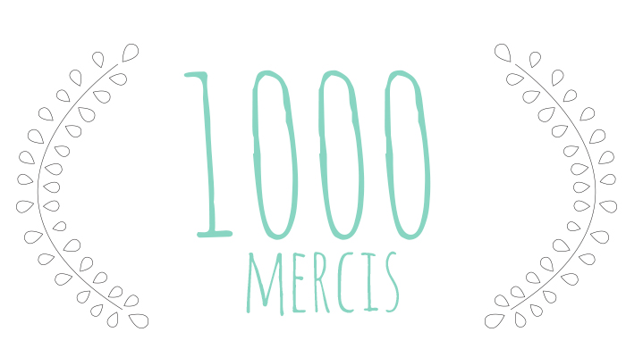 1000 mercis - FrenchyFancy