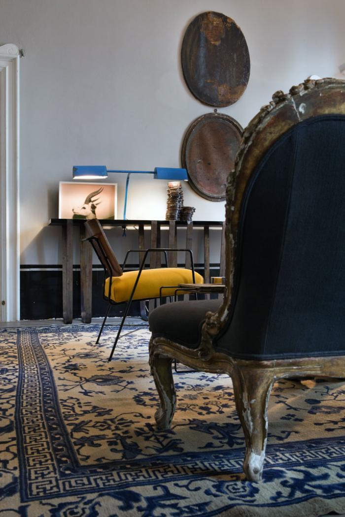 Mélange de styles classique et contemporain