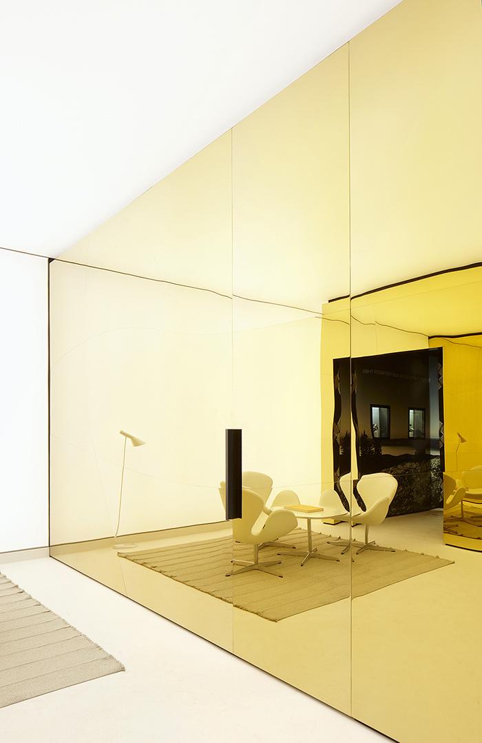 Gold interior