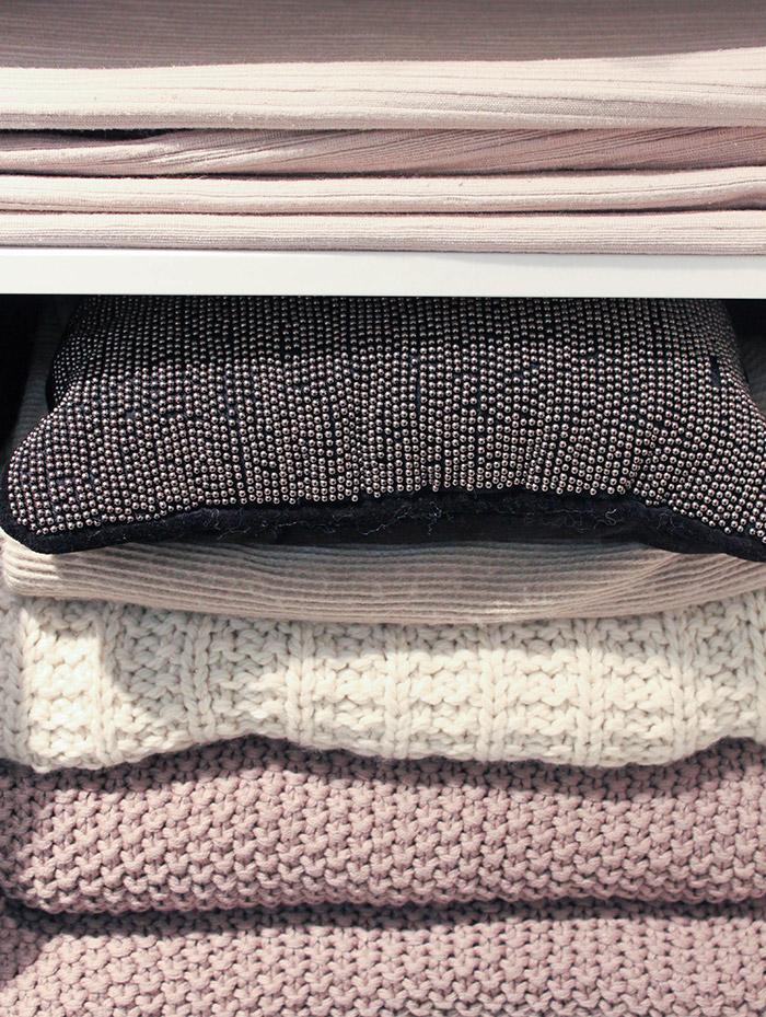 Accessoires déco en tricot