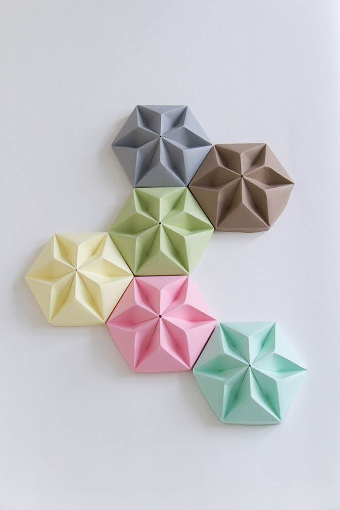 Studio Snowpuppe Lart Des Luminaires Origami Frenchy Fancy