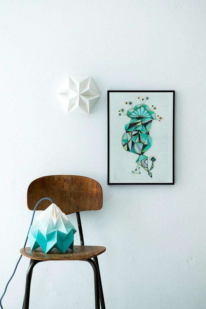 Luminaire Origami by Studio Snowpuppe