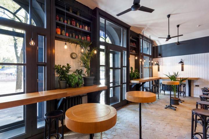 Style industriel charme et convivialit frenchy fancy for Bar style industriel