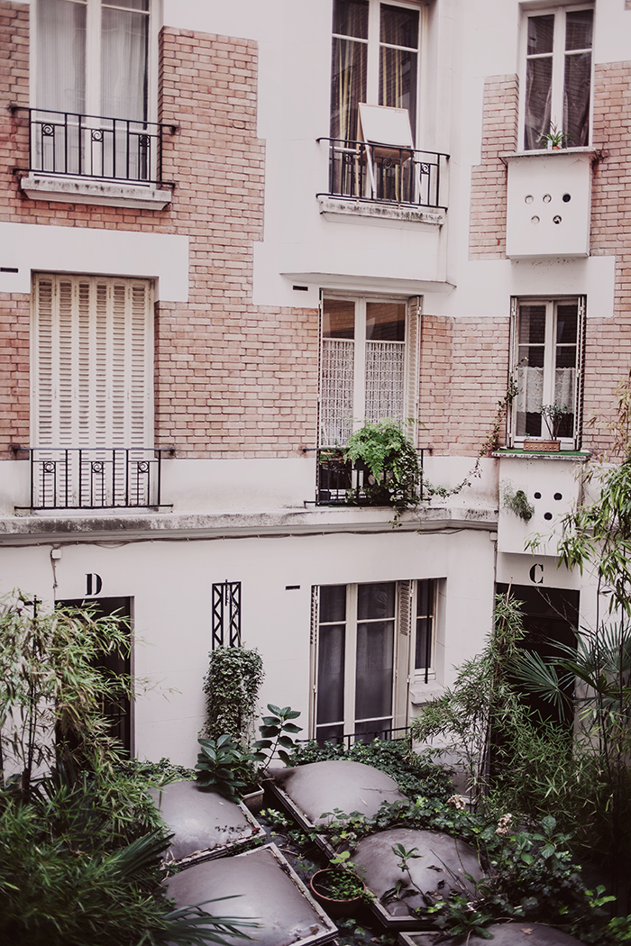 Our flat in Paris © Anna Malmberg