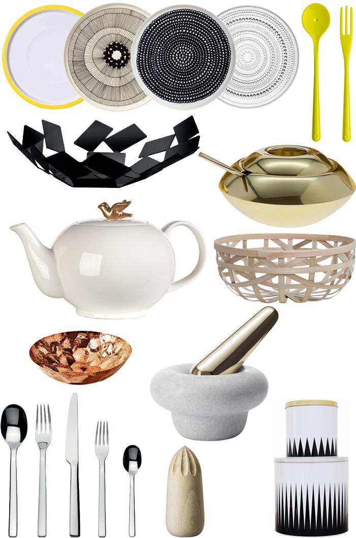 Accessoires de cuisine design