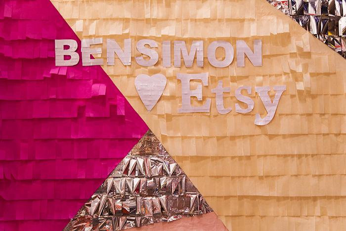 Soirée Bensimon x Etsy