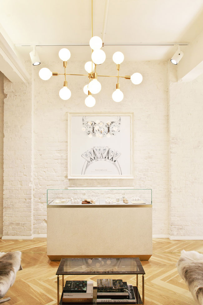 L'atelier Showroom de Naveya & Sloane