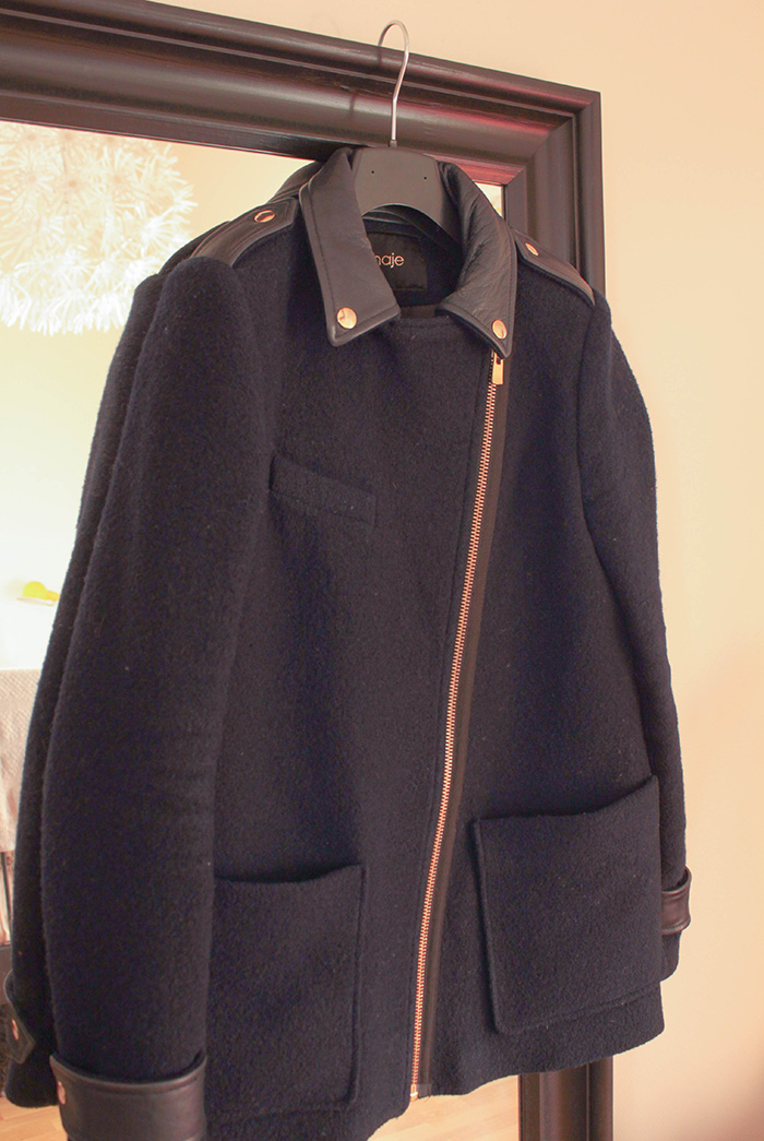 Manteau Maje collection Hiver 2012