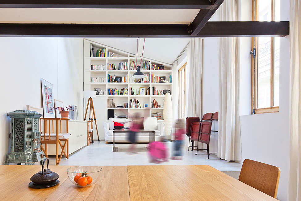 Duplex frenchy fancy - Cuisine style atelier artiste ...