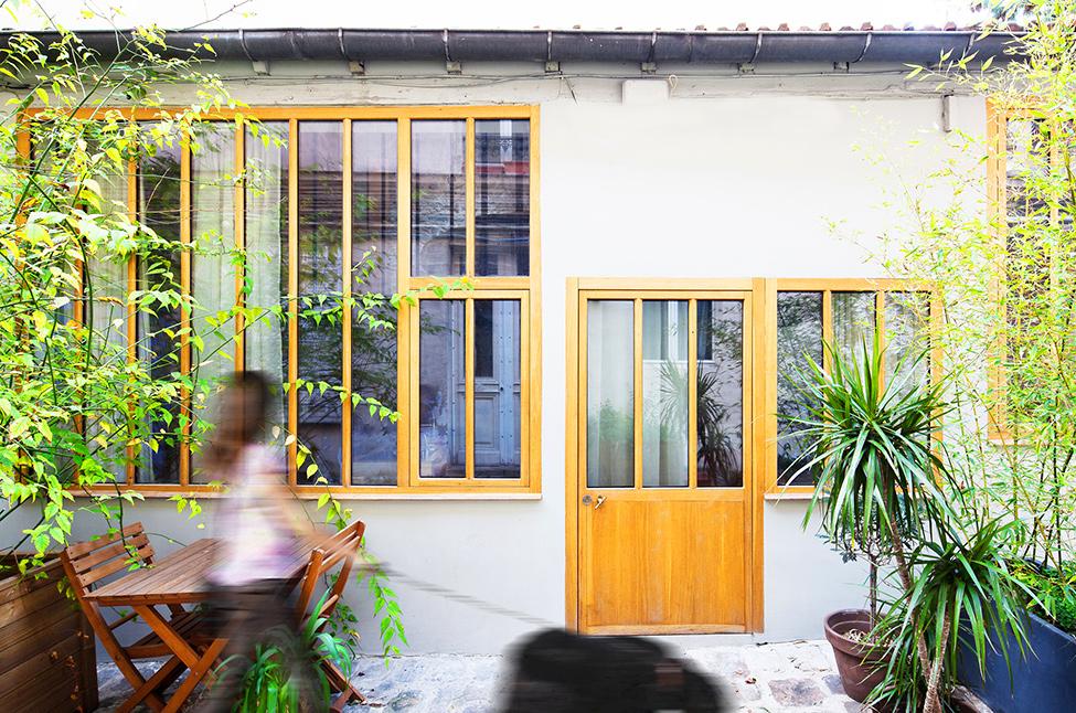 Loft à Paris réalisé par l'agence NZI architectes