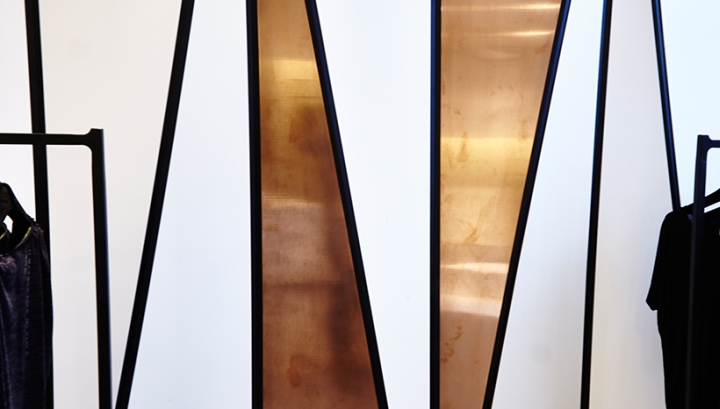 Décoration d'intérieur avec touches de cuivre