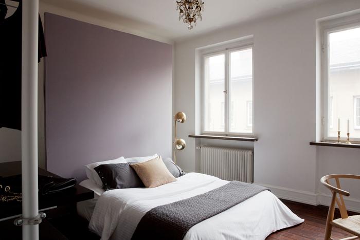 Tête de lit de couleur
