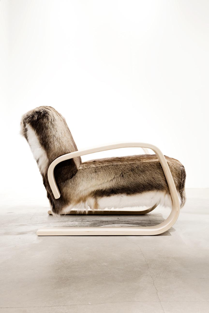 Fauteuil by Alvar Aalto