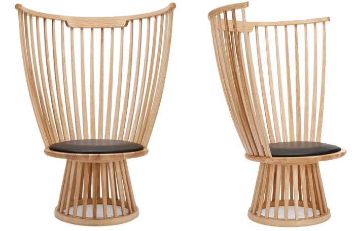 Fauteuil design en bois