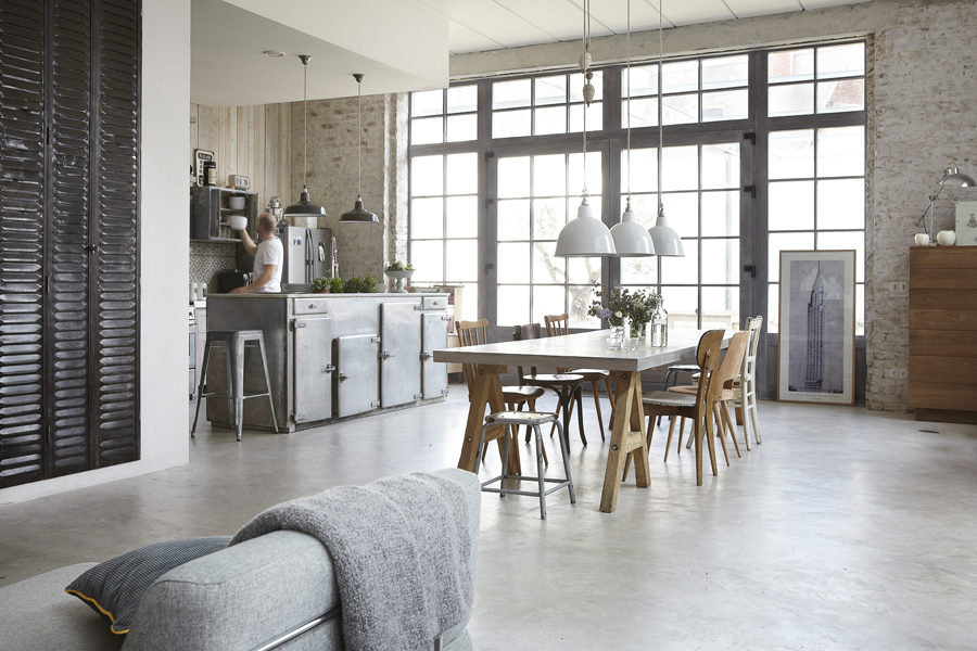 Loft et mobilier vintage
