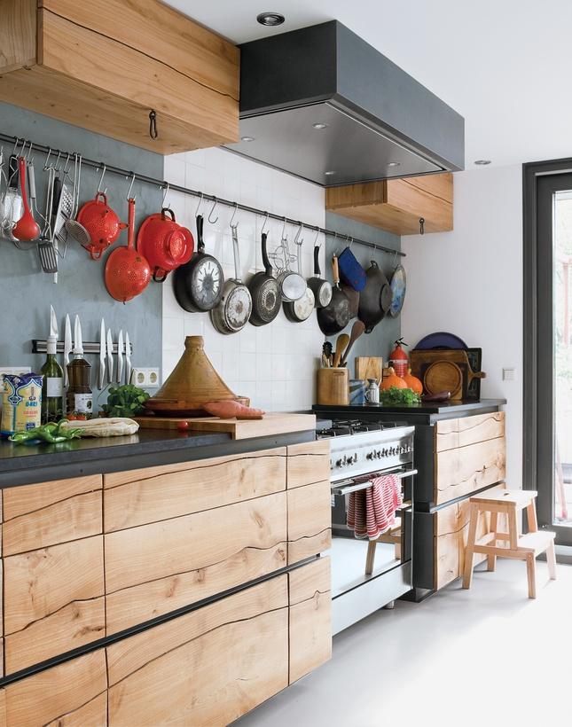 Coup de coeur les cuisines en bois frenchy fancy for Les modeles de cuisines en bois