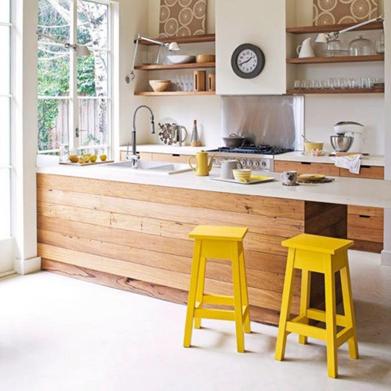 Coup de coeur les cuisines en bois frenchy fancy for Les cuisines