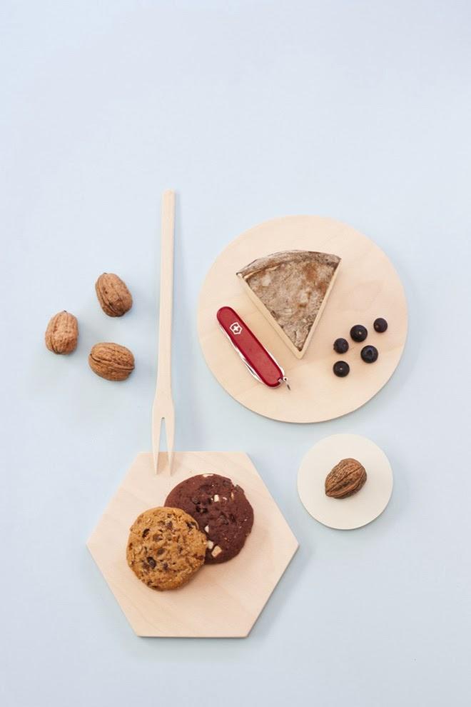Accessoires de cuisine en bois design