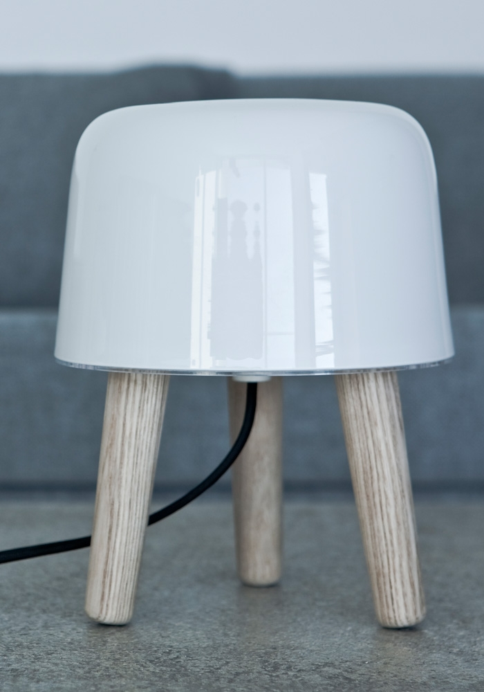 La Milk lamp by Norm Architects