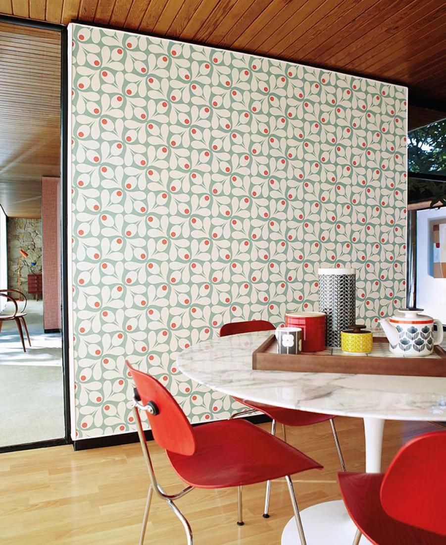 Du papier peint pour une chambre d 39 enfant frenchy fancy for Modele papier peint chambre
