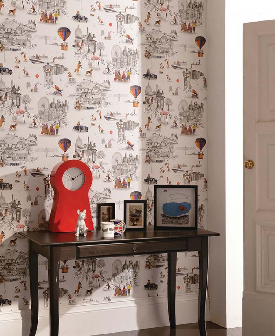 Papier Peint Pour Chambre du papier peint pour une chambre d'enfant ! - frenchy fancy