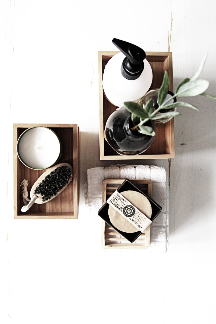 Inspiration du bois dans la salle de bain frenchy fancy for Dans la salle de bain