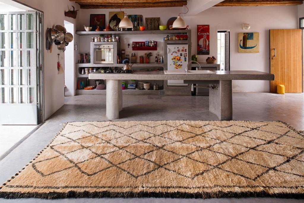 Tendance le tapis Bouchérouite