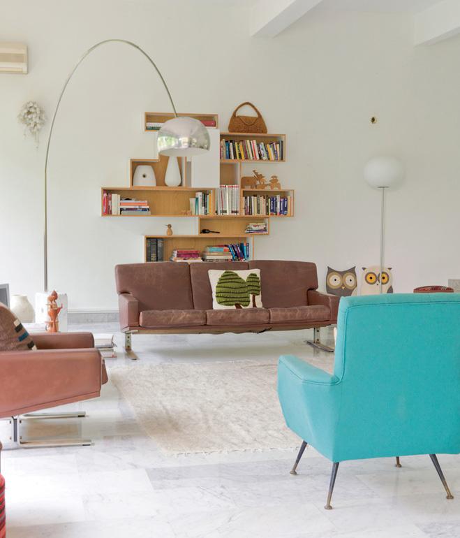 Décoration d'intérieur style vintage