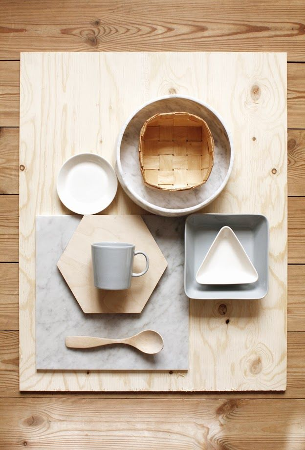 Objets design en bois
