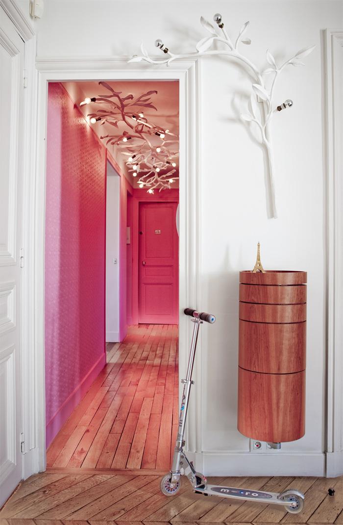 Peindre des murs en rose
