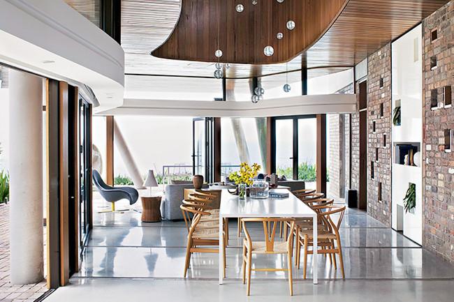 Architecture contemporaine en bord de mer frenchy fancy - Mobilier bord de mer ...