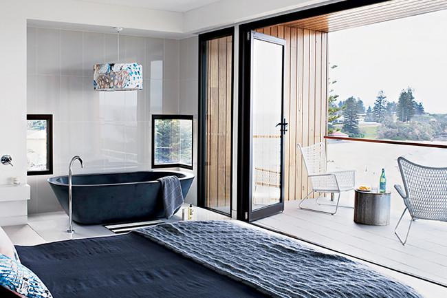 Architecture contemporaine en bord de mer frenchy fancy for Casa deco maison