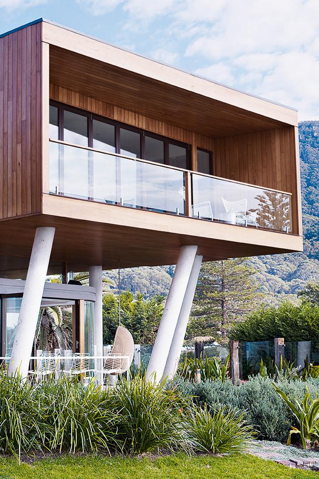 architecture contemporaine en bord de mer frenchy fancy. Black Bedroom Furniture Sets. Home Design Ideas