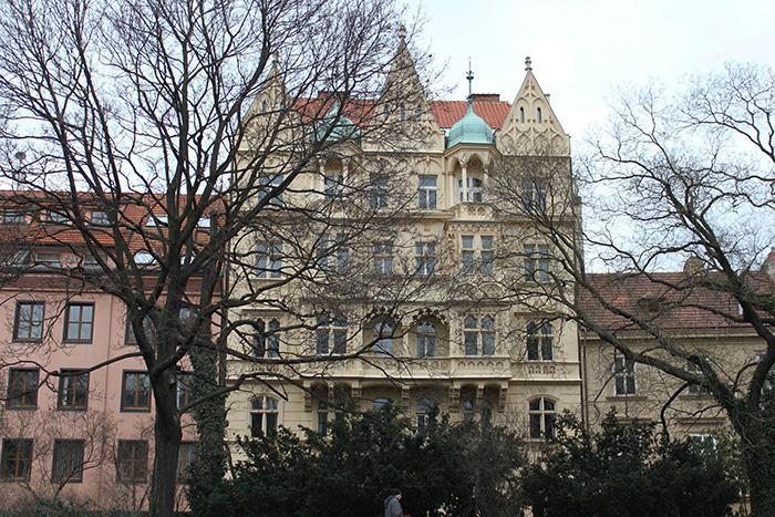 Les jolies couleurs de Prague