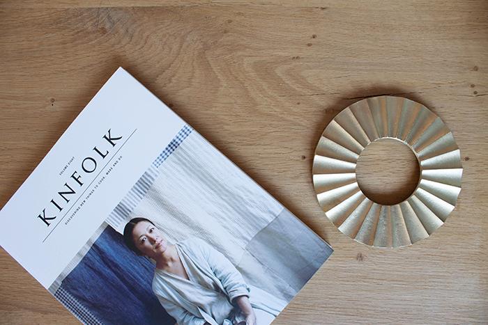 Dessous de plat en laiton doré de Oji & Design