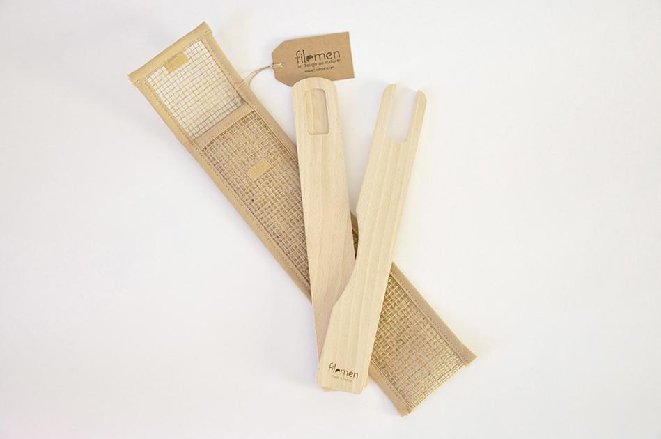 Couverts en bois design