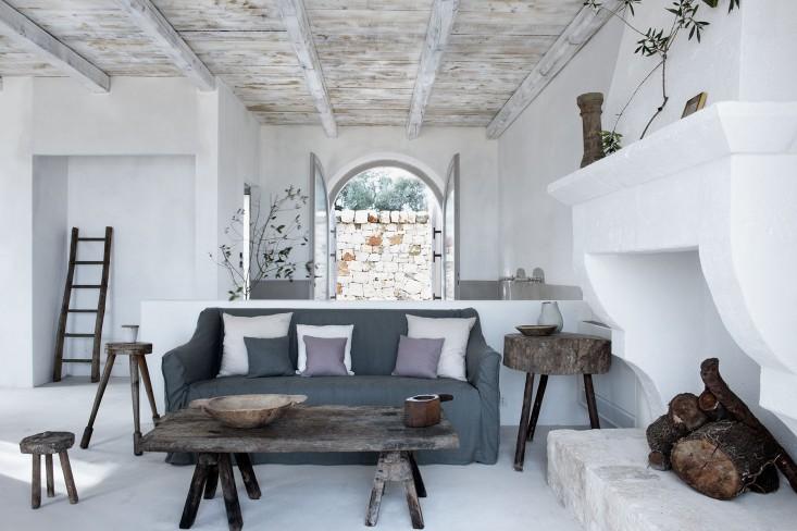 Couleurs douces dans un ancien corps de ferme frenchy fancy for Eco design per la casa