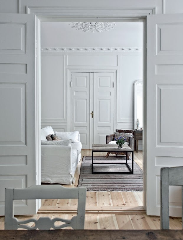 Le charme de l 39 ancien copenhague frenchyfancy for Decoration appartement haussmannien