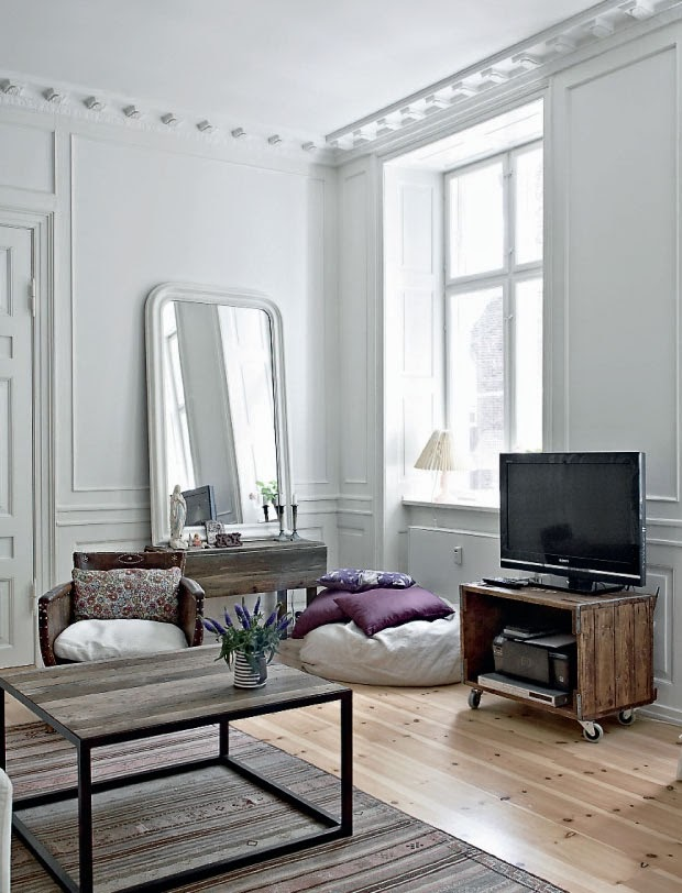 Le charme de l 39 ancien copenhague frenchy fancy for Decoration appartement haussmannien
