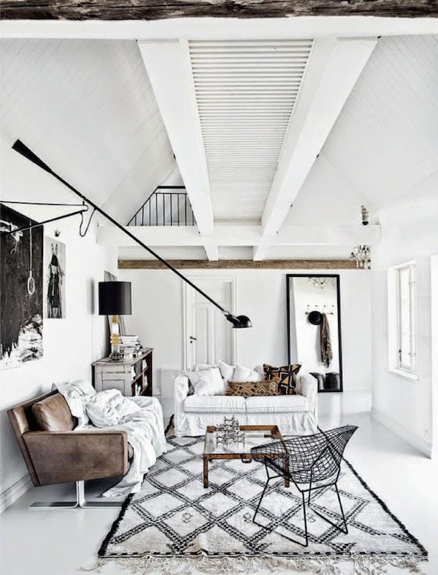 Le design scandinave en noir et blanc frenchy fancy - Mobilier design scandinave ...