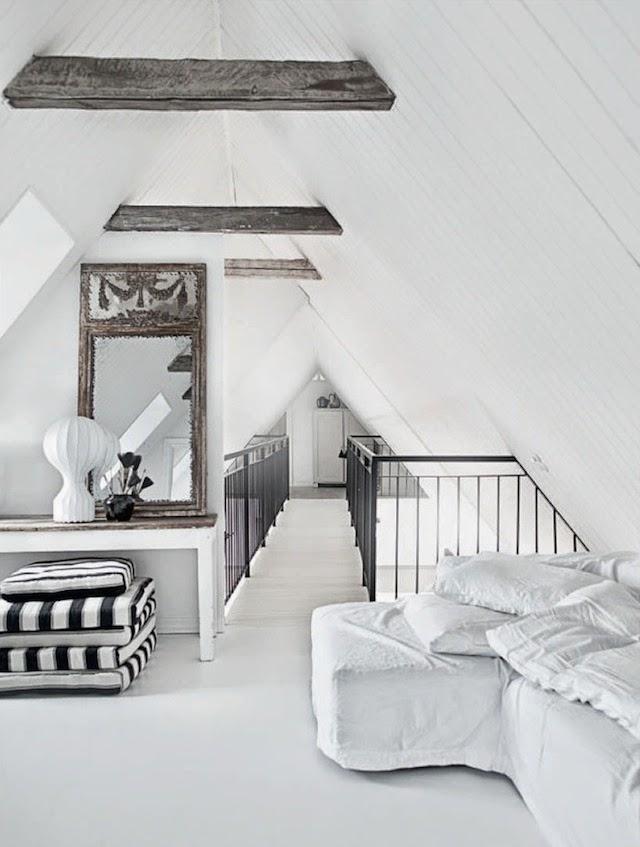 le design scandinave en noir et blanc frenchy fancy. Black Bedroom Furniture Sets. Home Design Ideas