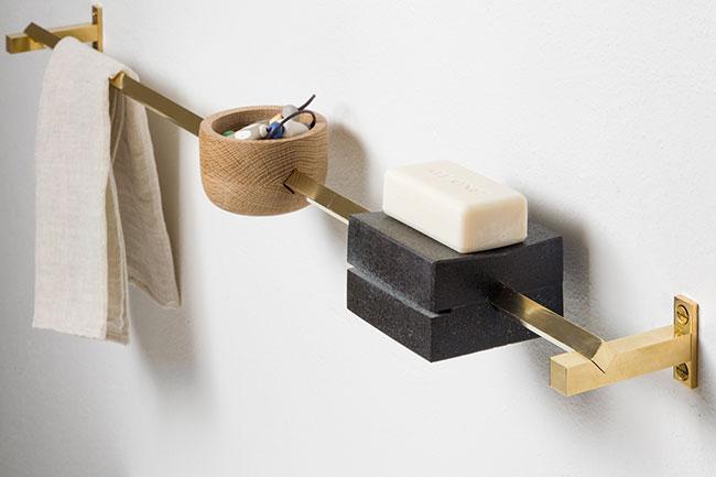Accessoire de salle de bain design