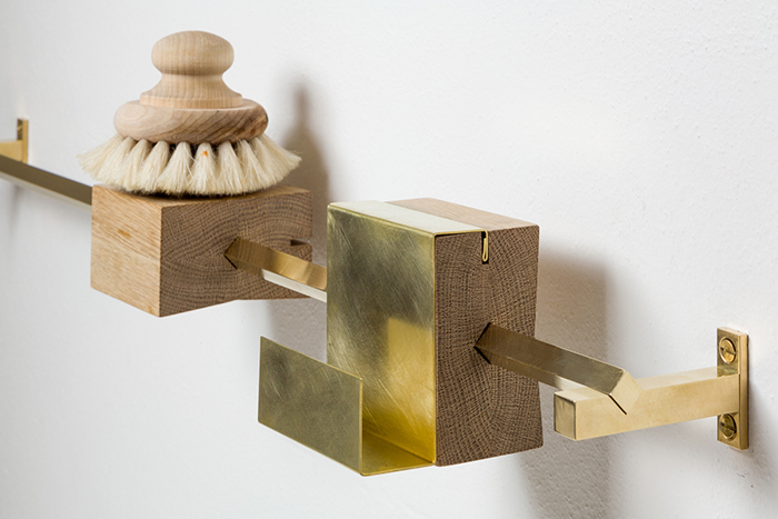 Accessoire de salle de bain design by Studio Groupwork
