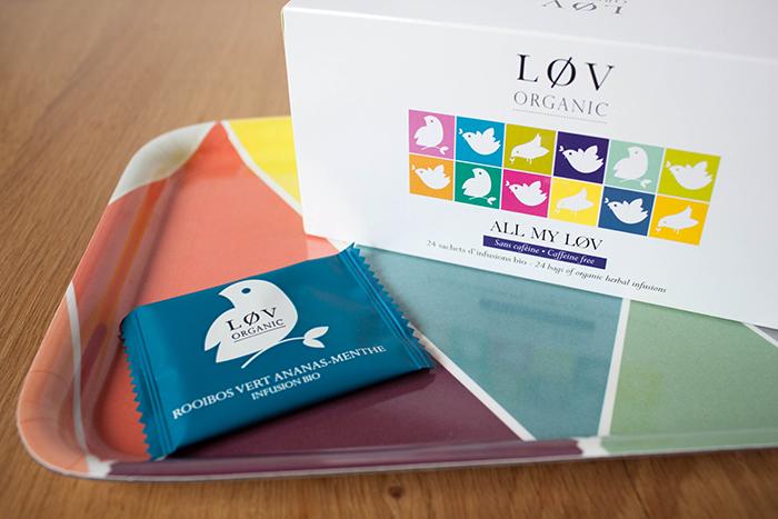 Sélection de thés Lov Organic