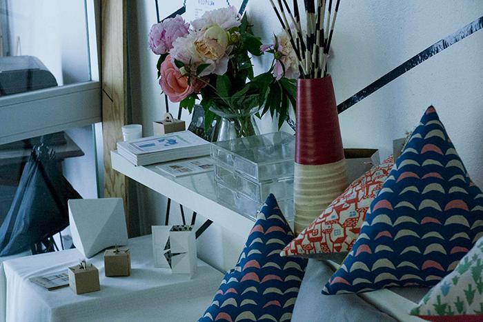 L'atelier parisien de Raphaëlle H'limi