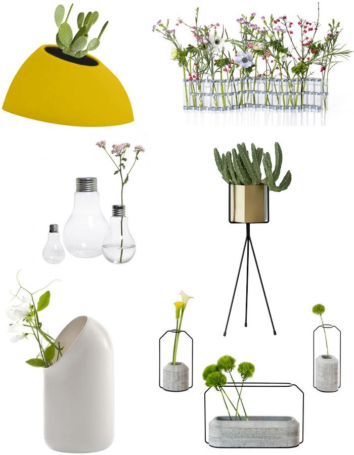 Shopping : du design pour nos plantes vertes