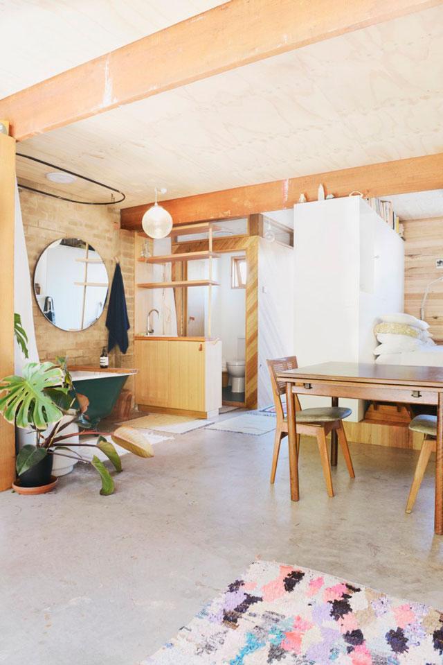 Salle de bain chambre open space ~ Solutions pour la décoration ...