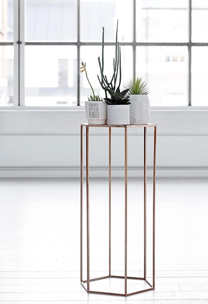 Tendance mobilier en cuivre