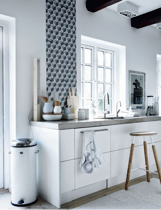 De Style Frais Dans La Cuisine Design D Intérieur Jet Set Pictures to ...