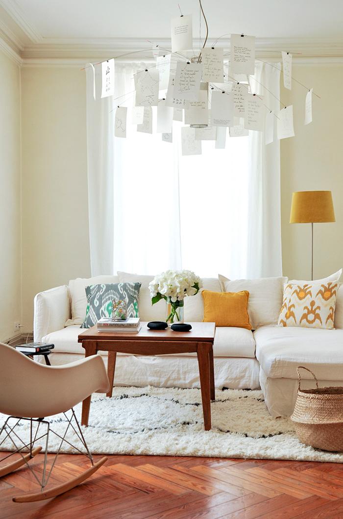 un intérieur raffiné par bel ordinaire - frenchy fancy - Chaise A Bascule Eames